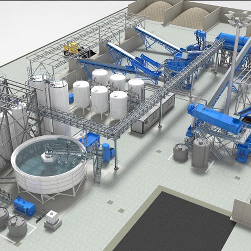Piattaforme integrate di gestione e trattamento rifiuti